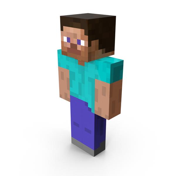 Minecraft Steve PNG Images & PSDs for Download.