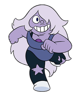 Amethyst Running transparent PNG.