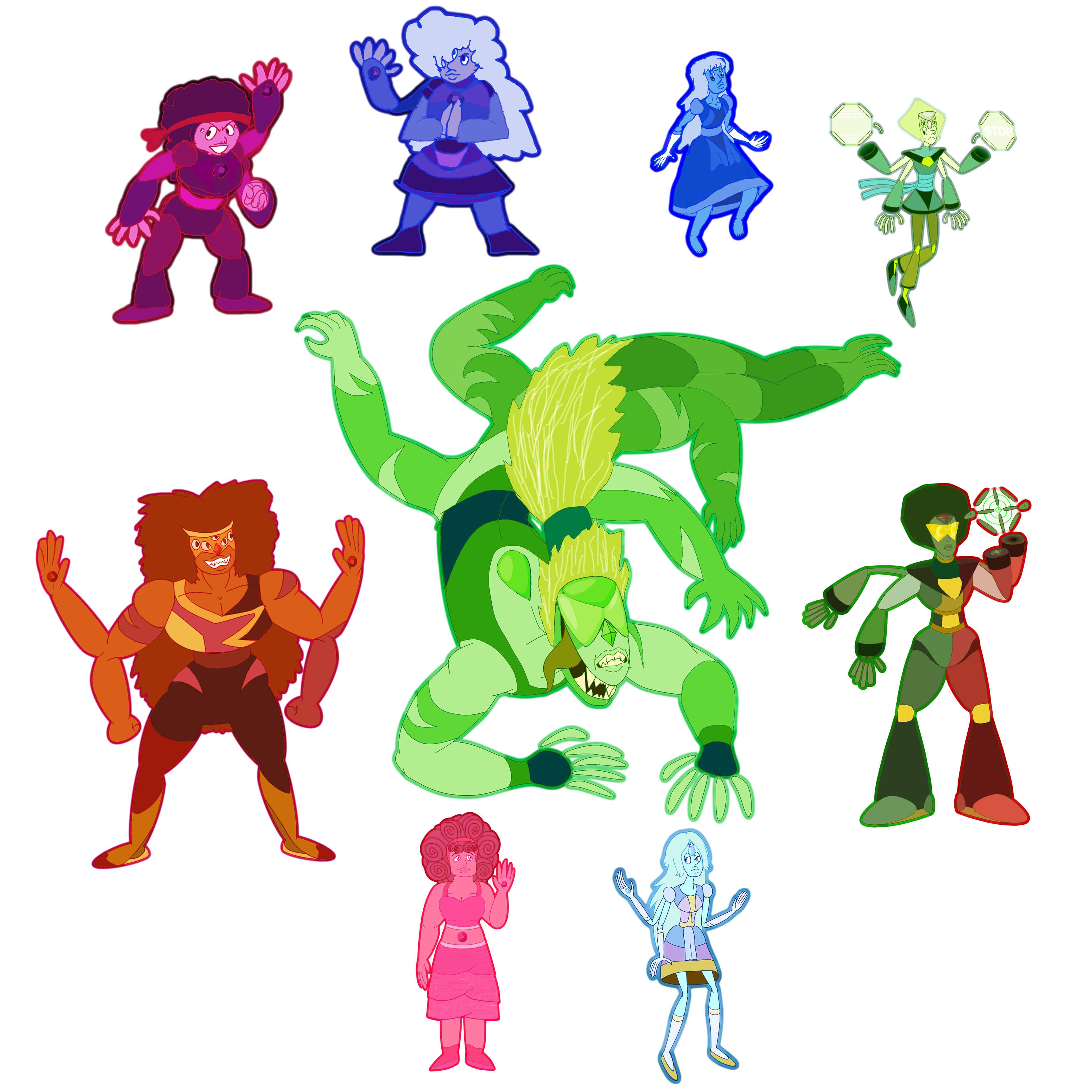 Steven Universe Clipart Fusions Clipground