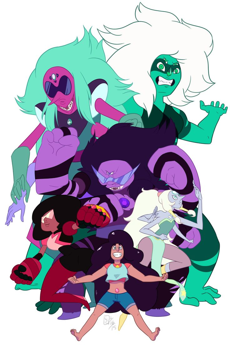 17 Best ideas about Steven Universe Gem Fusions on Pinterest.