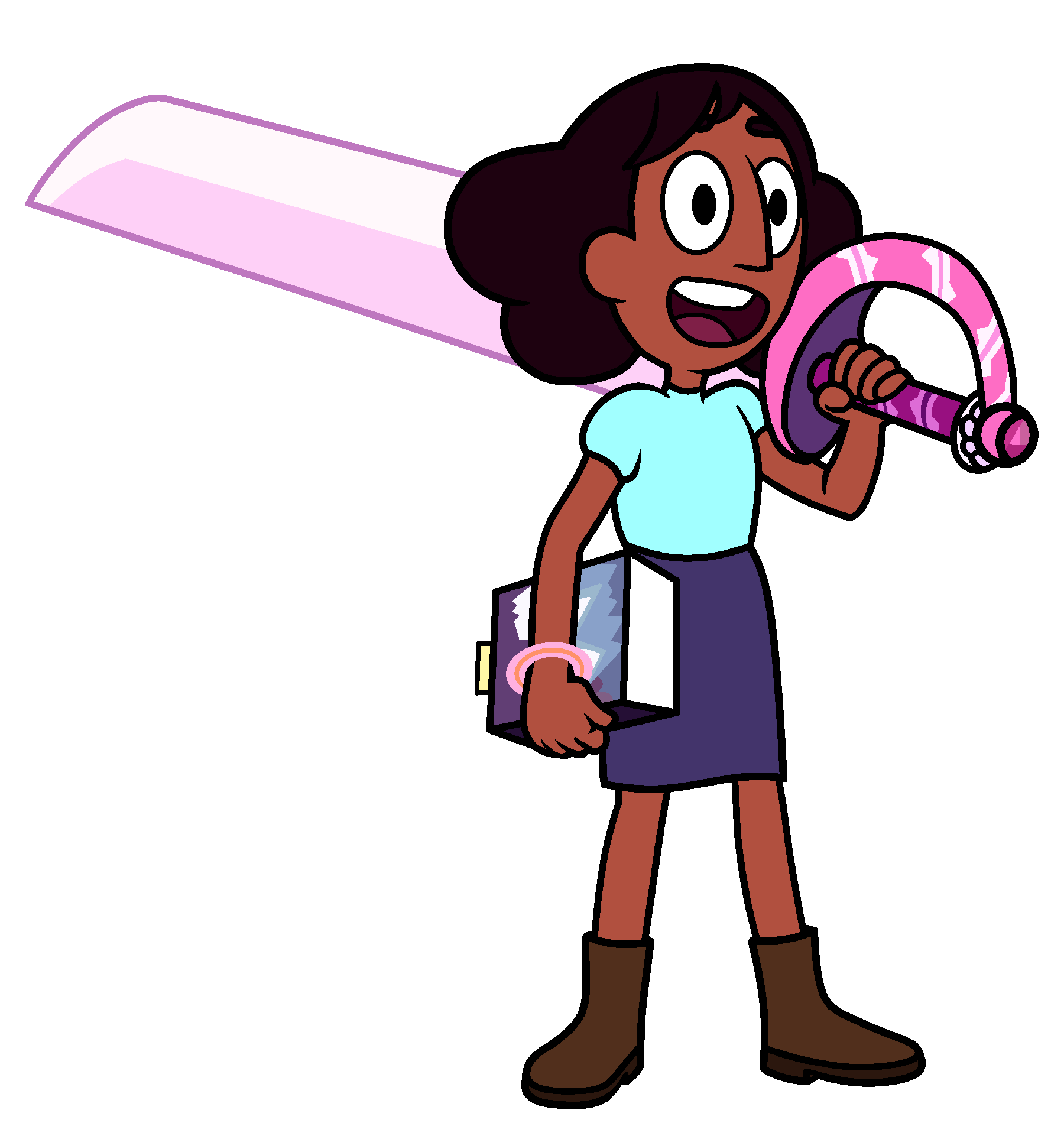 I absolutely love Connie\'s new look! So I made a PNG.