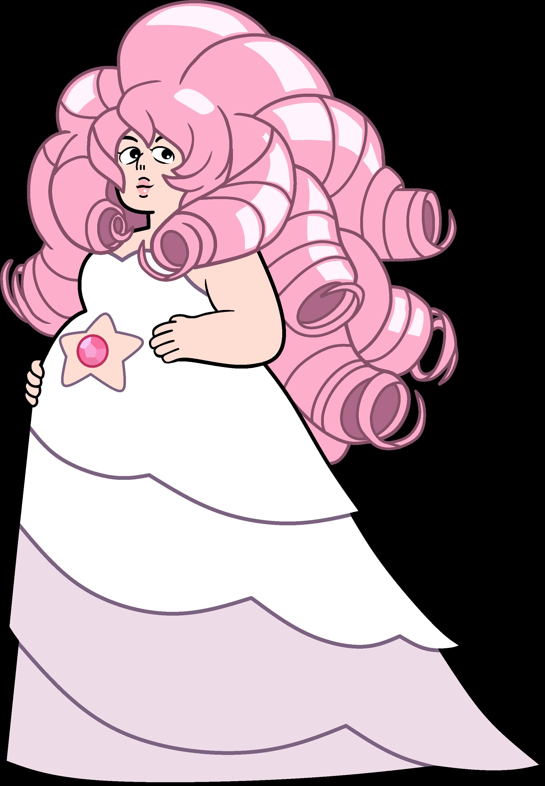 Steven Universe Rose Clipart.