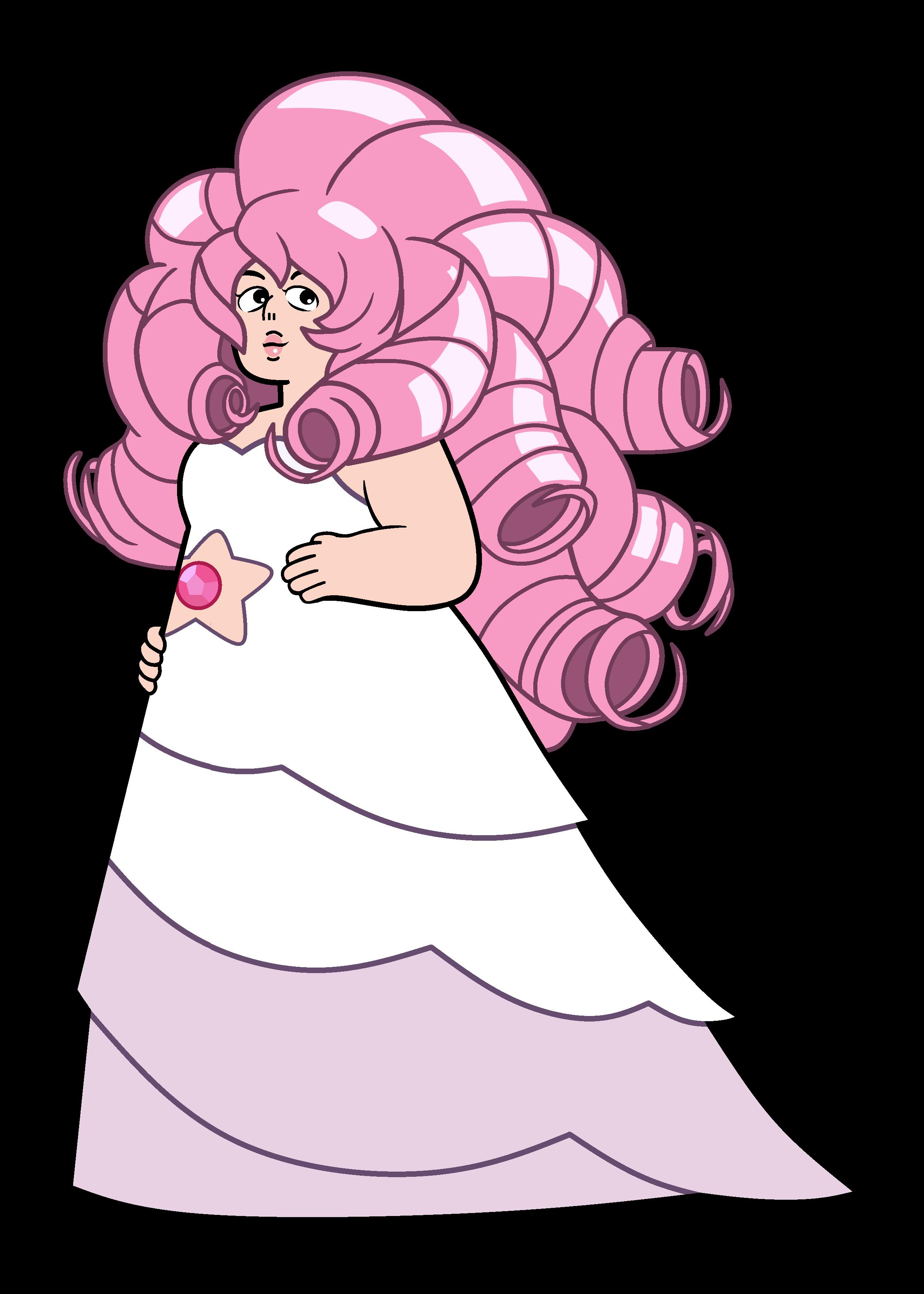 rose quartz steven universe gem.
