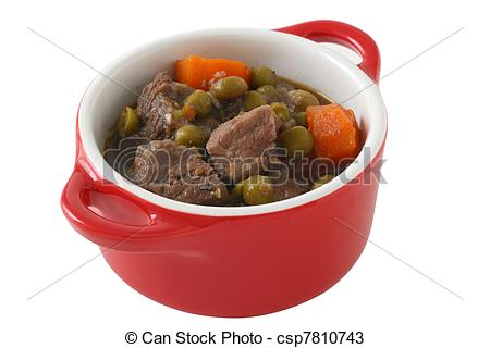Stock Photos of beef stew in small bowl csp7810743.