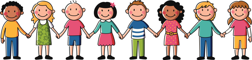 Clipart Of Children Holding Hands.