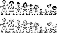 Bing Family Clipart.