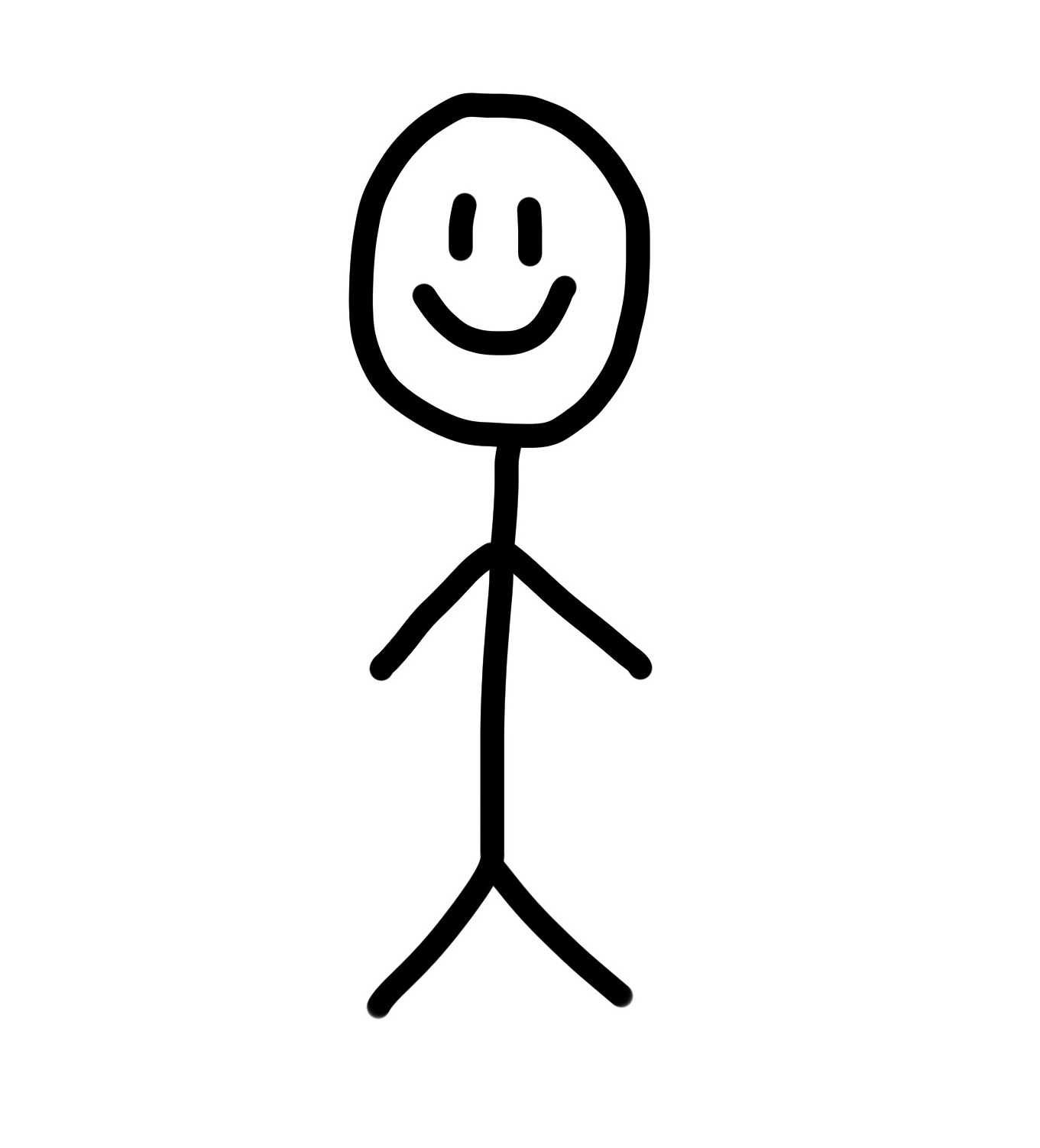 Sad Stick Figure.