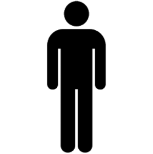 Human stick figure clip art.