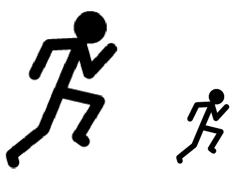 displaying (15) gallery images for stick man running clipart.