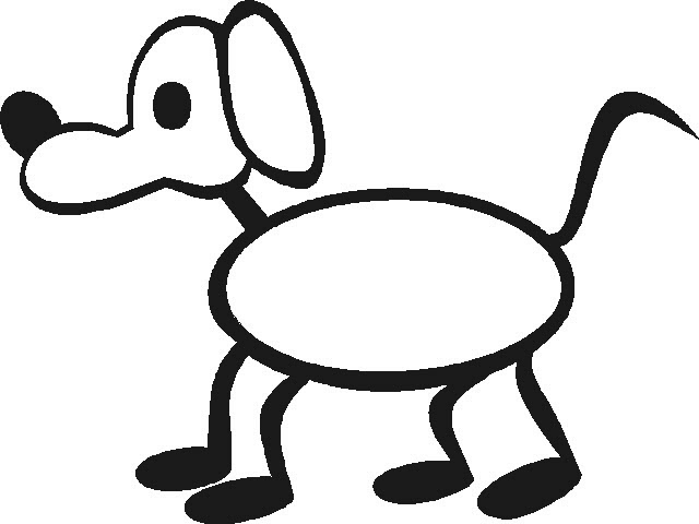 Free Dog Stick Figure, Download Free Clip Art, Free Clip Art.