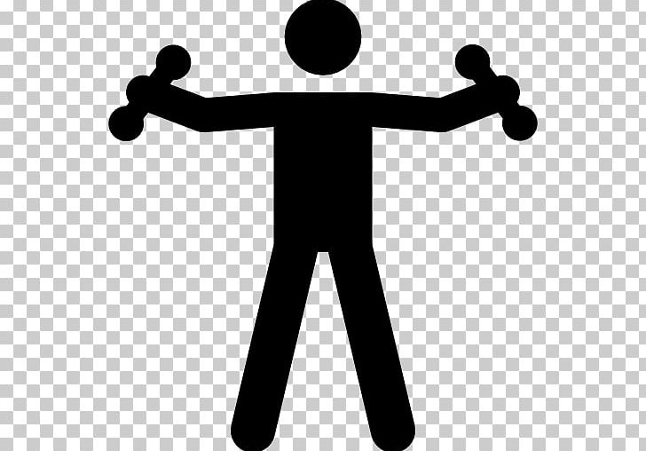 Exercise Stick Figure Physical Fitness Weight Training.