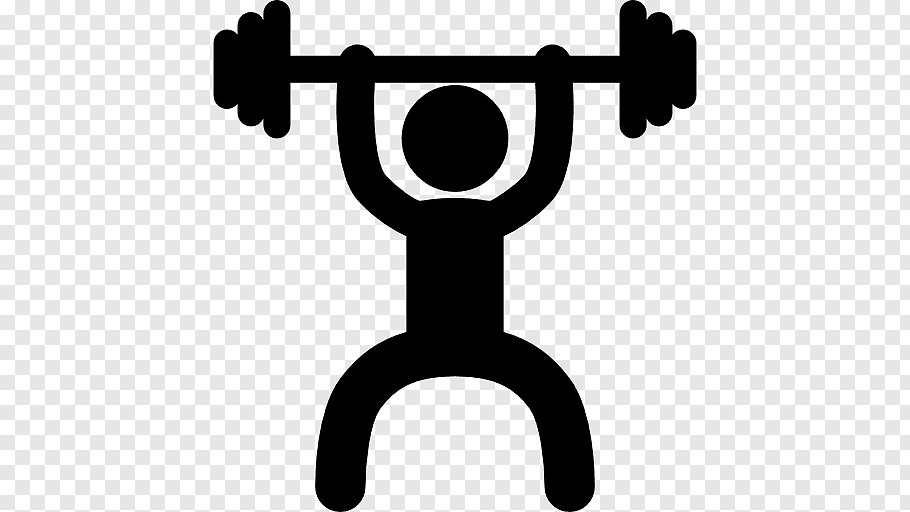 Person lifting barbell, Exercise Fitness centre Dumbbell.