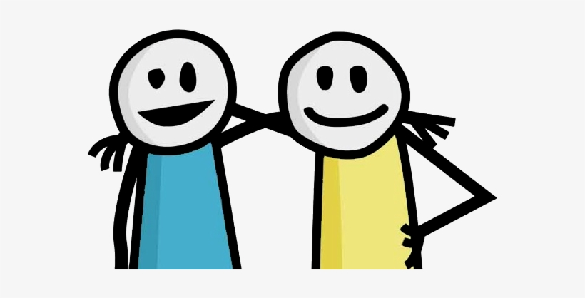 Download Free png Stick Figure Friends Png Graphic Stock.
