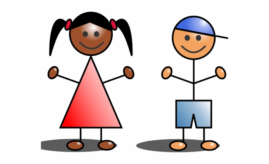 Stick Kids Clip Art Free PNG Images & Clipart Download.