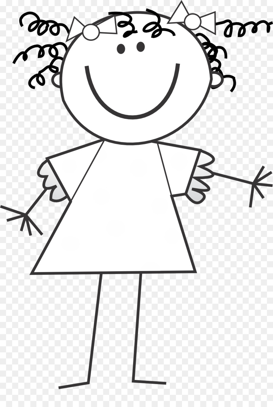 Stick Figure Kids Png Black And White & Free Stick Figure.