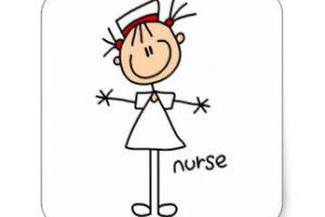 Stick figure nurse clipart 1 » Clipart Station.