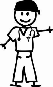 Stick figure nurse clipart 3 » Clipart Station.