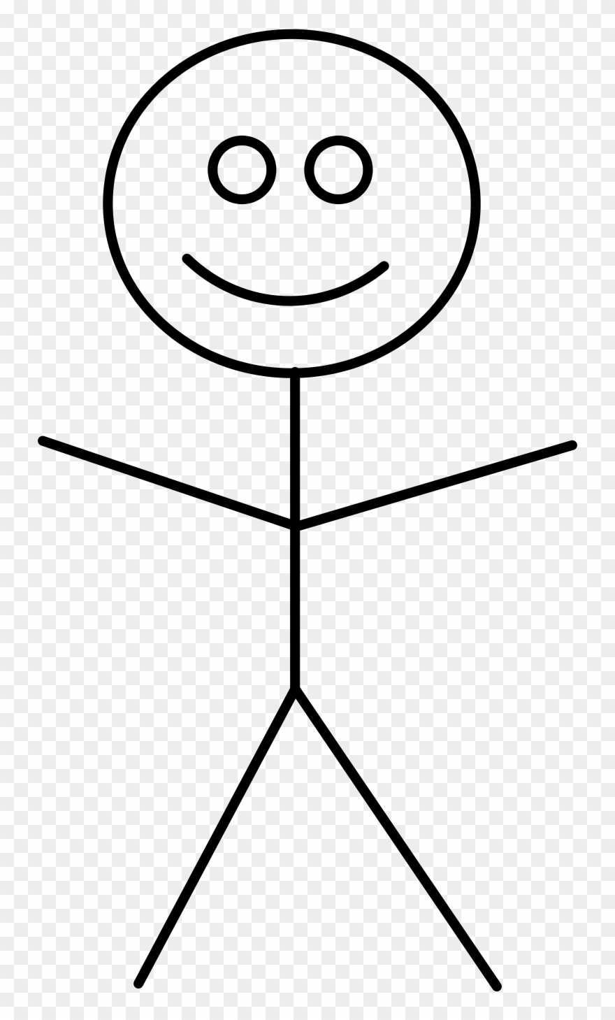 Clipart Of Figure, Stick And Person And.
