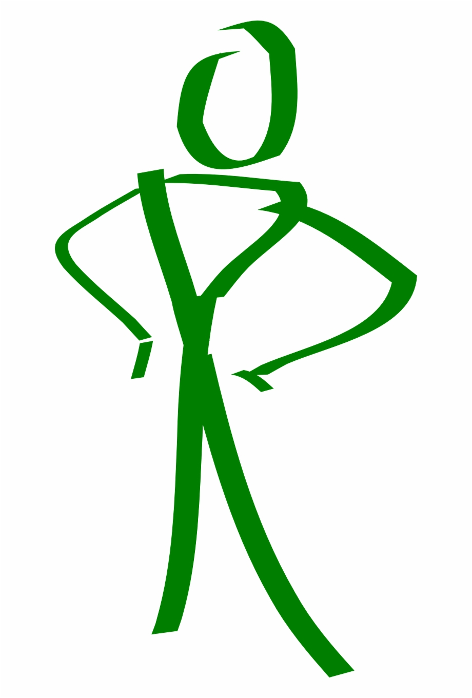 Stick Figure Standing Stick Man Png Image.