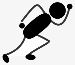Running Stick Figure PNG Images.