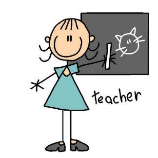 Image result for stick figure teacher.