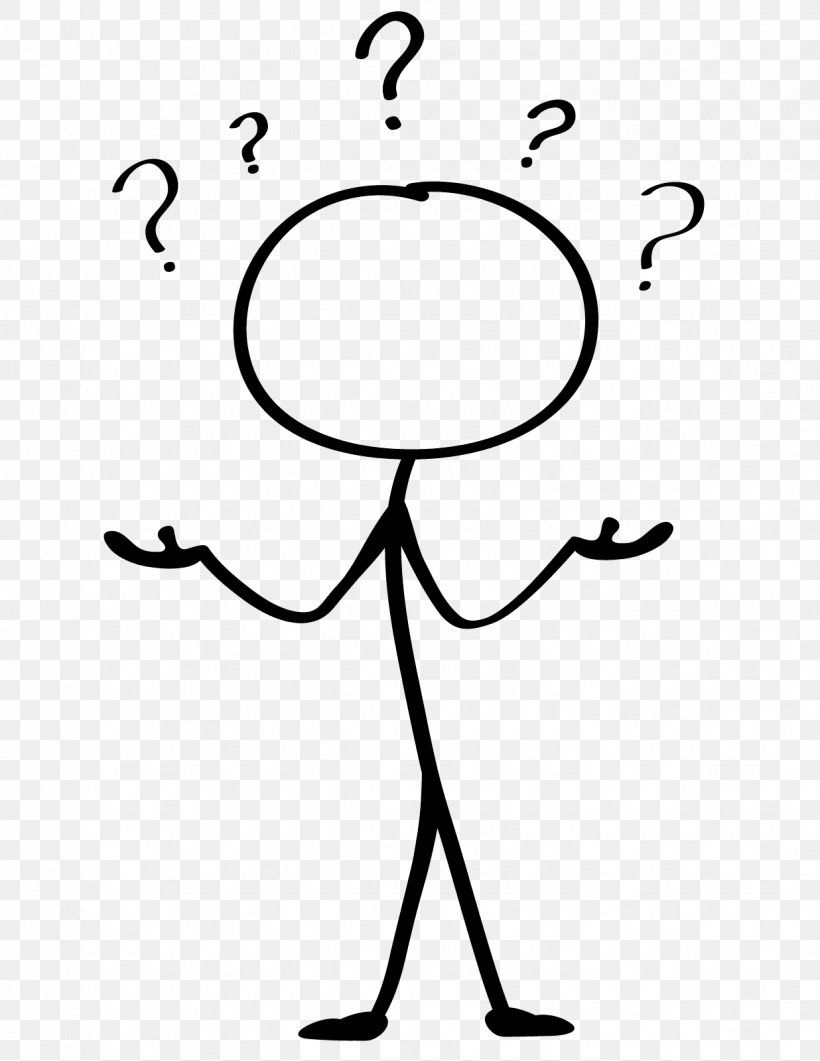 Stick Figure Animation Drawing Question Clip Art, PNG.