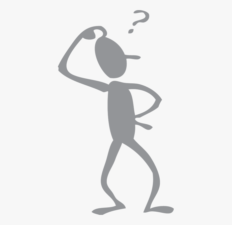 Thinking Stick Figure Clipart , Png Download.