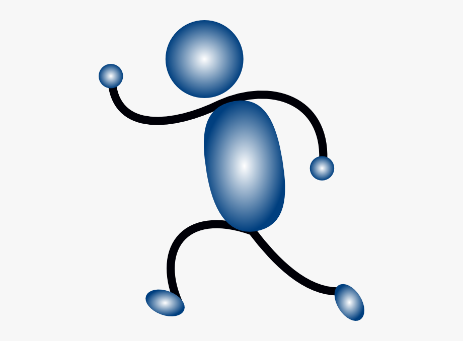 Stick Figure Walking Clip Art Free , Transparent Cartoon.