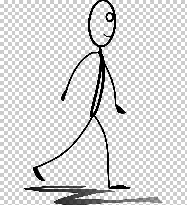 Stick figure Walking stick , stick figure man and woman PNG.