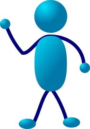 Stick Man Clipart.