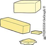 Butter Stick Clip Art.