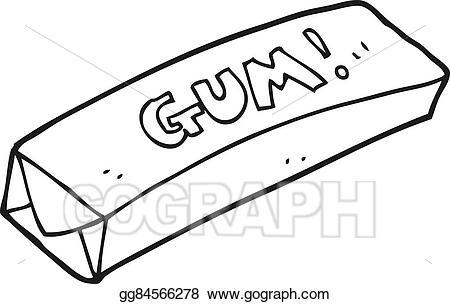 597 Gum free clipart.
