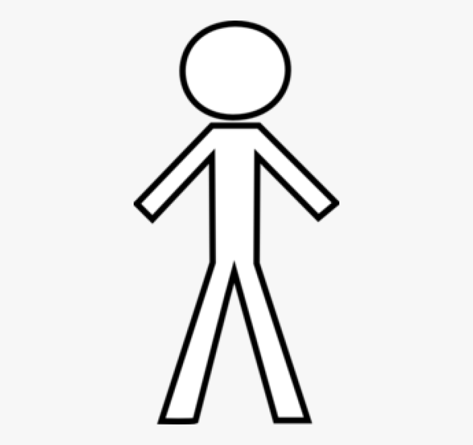 White Stick Figure Clip Art At Pngio Vector Clip Art.