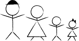 Stick People Clip Art Images.