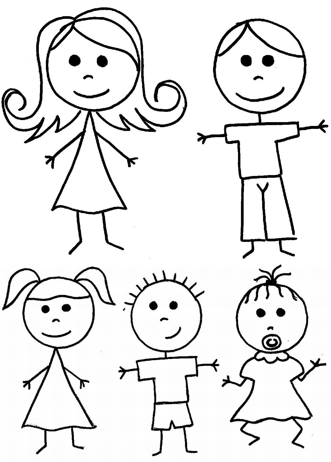 stick dad clipart clip figures clipground