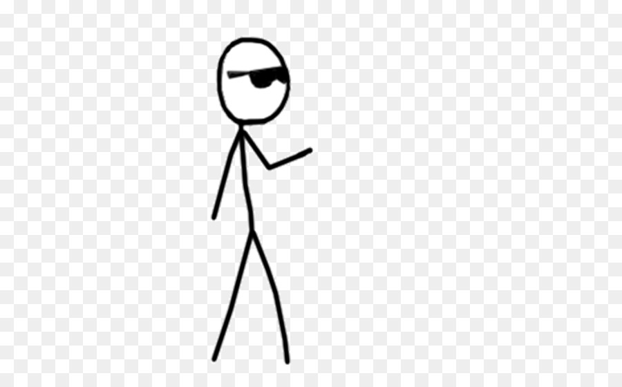 Stick Person Png Black And White & Free #369218.