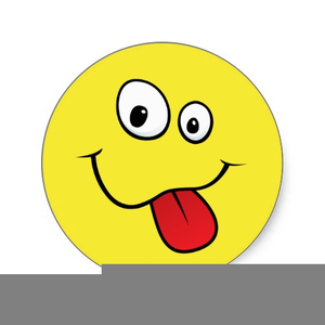 Tongue Sticking Out Clipart.