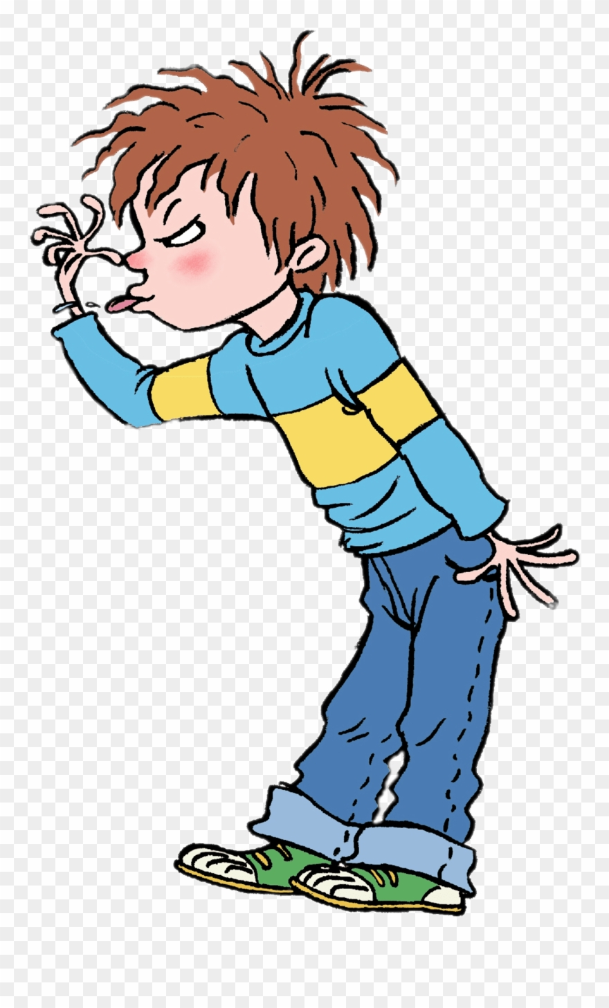 Horrid Henry Sticking Out Tongue Transparent Png.