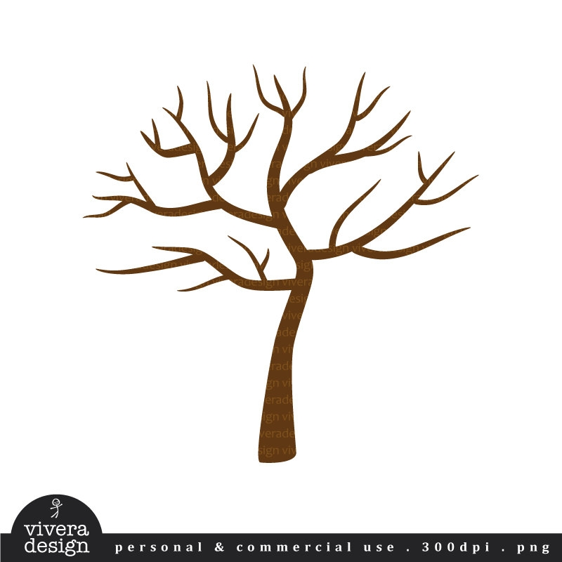 Simple Tree Clip Art.