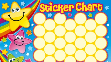 Sticker Chart Clipart.