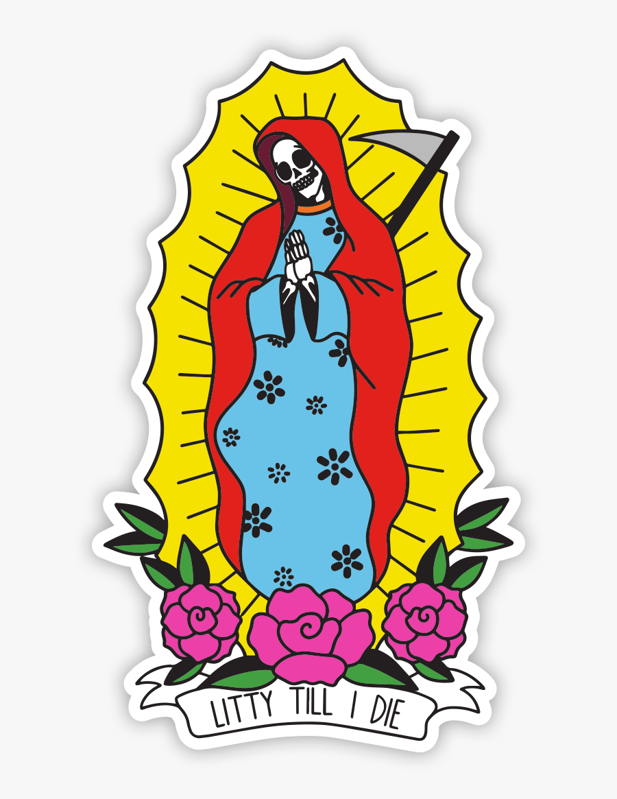 Mother Mary Sticker Clipart , Png Download.