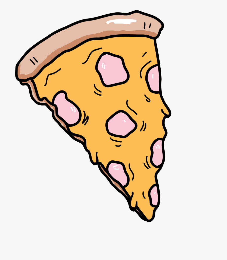 Fashion Pizza Sticker Clipart , Png Download.