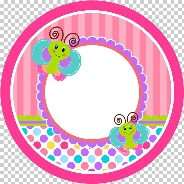 Butterfly Paper Sticker Label , baby shower PNG clipart.