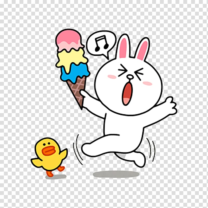 Sticker Line Friends Telegram Decal, Digital line.