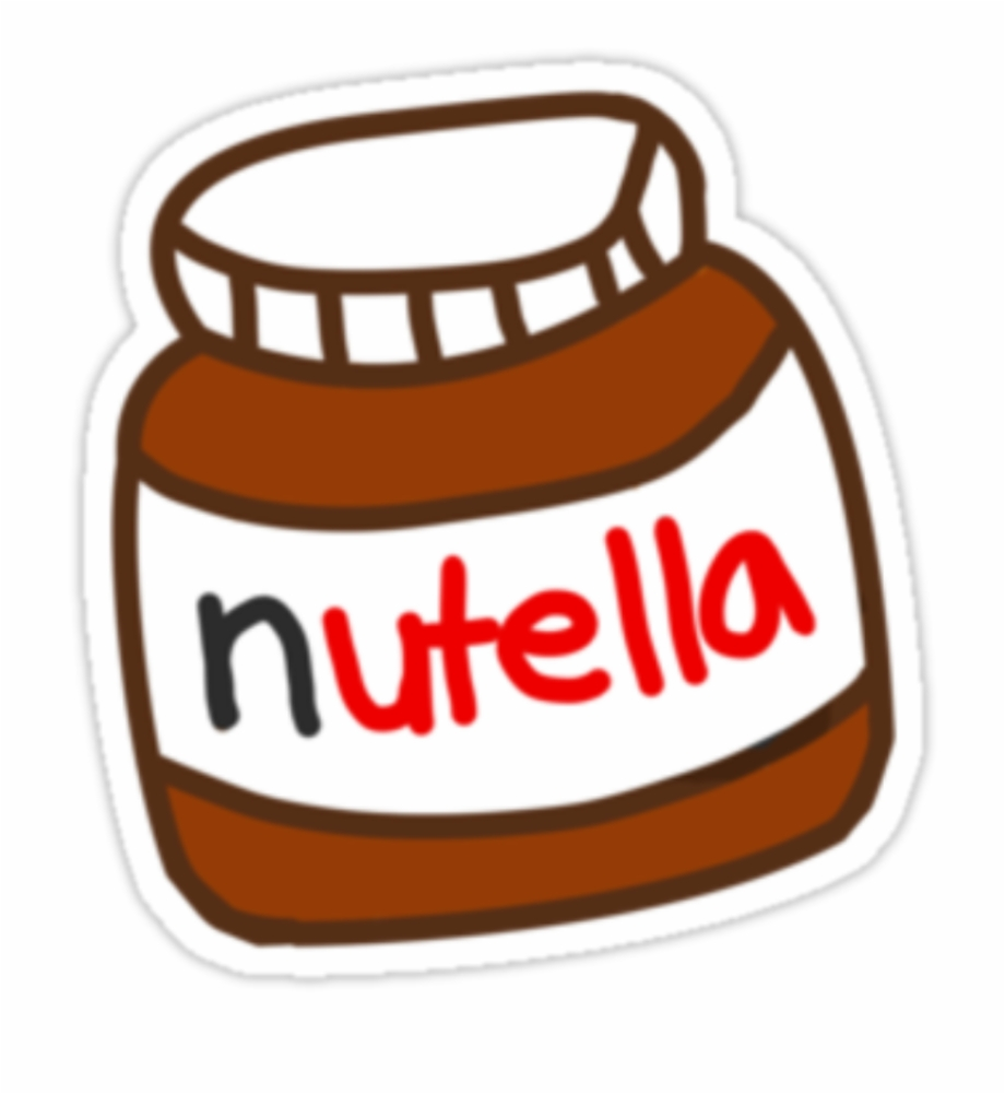 Nutella Tumblr Stickers Of Nutella.