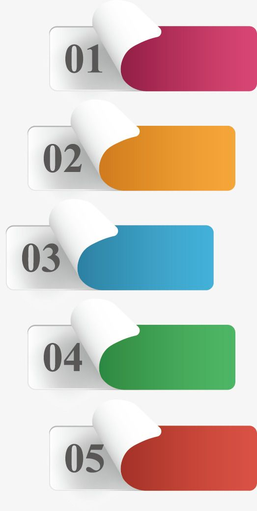 Creative Ppt Element, Label, Sticker PNG and Vector with.