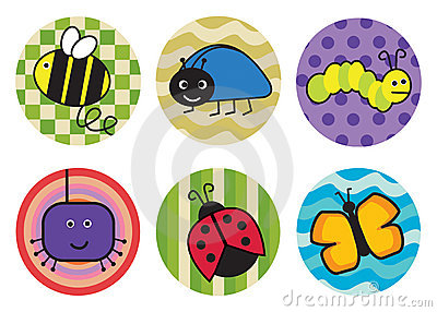 Stickers Clipart.