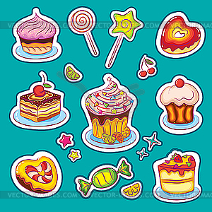 Stickers clip art.