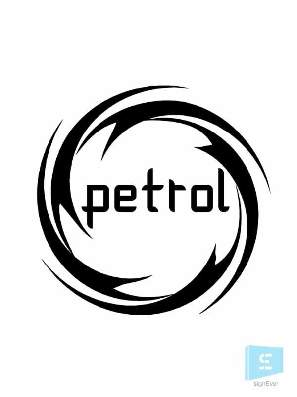 Force Petrol Sticker Car Fuel Vinyl Decal 6 Colors.