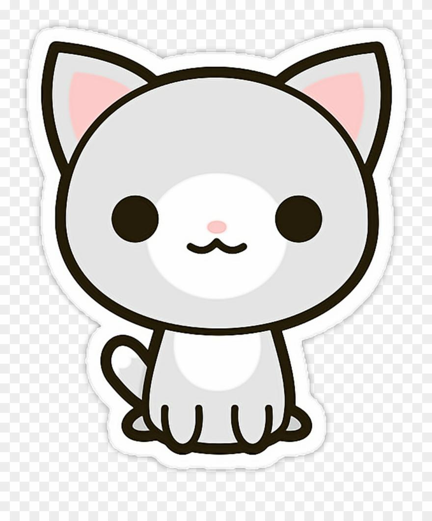 Cat Sticker.